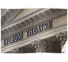 LYCEUM THEATRE Poster