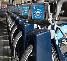 Boris bikes by picsl8