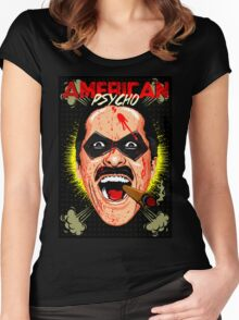 American Psycho Comedian Edition Women's Fitted Scoop T-Shirt