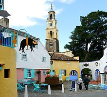 Portmeirion, North Wales  by hootonles
