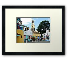 Portmeirion, North Wales  Framed Print