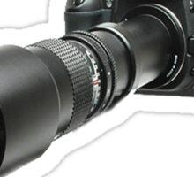 ♂ ♀ ∞ ☆ ★ PHOTOGRAPHERS APPAREL-Camera  With Telephoto Lense T-Shirt-JOURNAL,PILLOWS,ECT. ♂ ♀ ∞ ☆ ★ Sticker