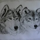 '2 WOLVES' by jansimpressions