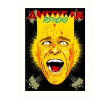 American Psycho Springfield Edition Art Print