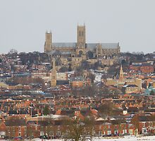 Lincoln Cathedral from the South Common by Jonathan Cox
