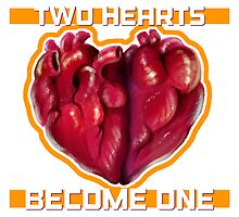 Two Hearts Become One by atelierMUSE