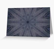 """Aruba Blue Star"" by Carter L. Shepard Greeting Card"