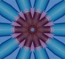 """""""Blue Aruba Flower"""" by Carter L. Shepard by echoesofheaven"""