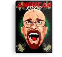 American Psycho Heisenberg Edition Metal Print
