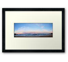 High tide, Delmenay Framed Print