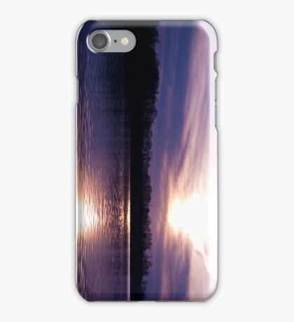 Sunset at Fordville iPhone Case/Skin