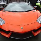 Orange Lamborghini by Vicki Spindler (VHS Photography)