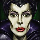 Maleficent 2014 by Topher Adam by TopherAdam
