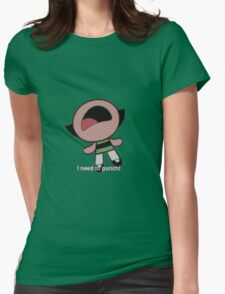 Buttercup - I need to punch! Womens Fitted T-Shirt