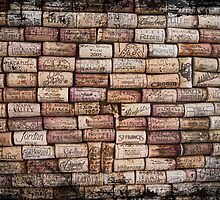 Wine Cork Wall 352 by ArtzMakerz