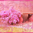 Rosy Bench by ArtzMakerz
