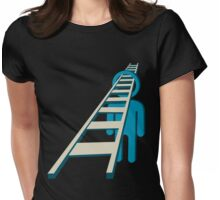 go through my mind and beyond Womens Fitted T-Shirt