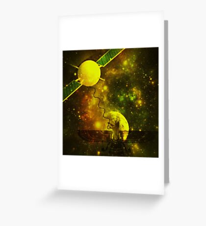hello ..... bonjour Greeting Card