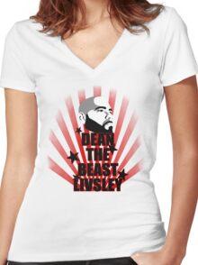 dean Women's Fitted V-Neck T-Shirt