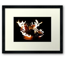 Tartini's Dream (The Devil's Trill) Framed Print