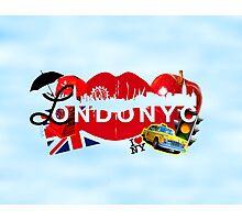 ☂ LONDONYC ☁ Photographic Print
