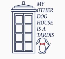 My Other Dog House is a TARDIS by Amanda Vontobel Photography