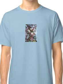Pink Buds and Jasmine Blossom Close Up Classic T-Shirt