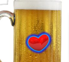 LOVE OF BEER T-Shirt and Stickers Sticker