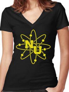 Station 5 Women's Fitted V-Neck T-Shirt