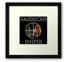 Steph Curry - American Sniper - CAMO Framed Print