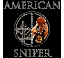 Steph Curry - American Sniper - CAMO Photographic Print