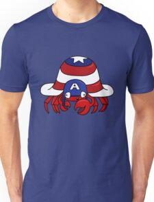 CRABTAIN AMERICA Unisex T-Shirt