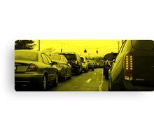 Saturday Traffic Canvas Print