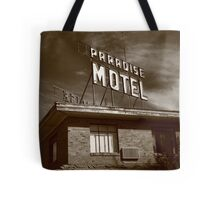 Route 66 - Paradise Motel Tote Bag