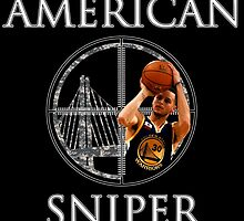 Steph Curry - American Sniper by sinkko