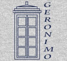 Geronimo! - Doctor Who Kids Tee