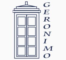 Geronimo! - Doctor Who One Piece - Long Sleeve