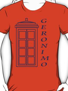 Geronimo! - Doctor Who T-Shirt