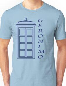 Geronimo! - Doctor Who Unisex T-Shirt