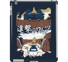 Attack on Waltz - Shingeki no Waltz iPad Case/Skin