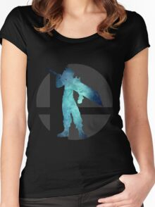Sm4sh - Cloud Women's Fitted Scoop T-Shirt