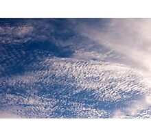 Clouds-11 Photographic Print