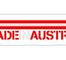 Made In Austria Logo Design Sticker