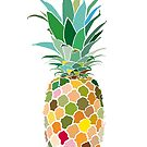 Pineapple print by drunkonwater