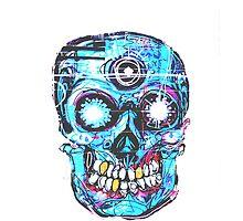 Creative Skull by MZawesomechic
