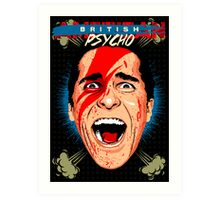 American Psycho British Edition Art Print