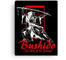 """Bushido"" by Carter L. Shepard Canvas Print"