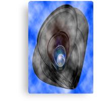 blue pearl sky Canvas Print