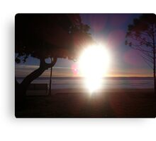 Sandgate Brisbane Morning Sunrise Canvas Print