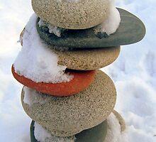 snow rock  by James E. Thomas